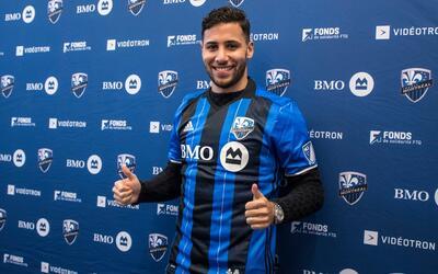 Saphir Taïder, nuevo jugador franquicia de Montréal Impact.