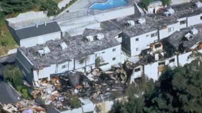 Imágenes de archivo del terremoto de Northridge 1994 Fotos de FEMA