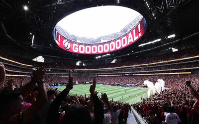 El Mercedes-Benz Stadium, sede de los récords de Atlanta United.