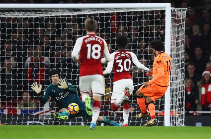 Arsenal y Liverpool igualaron 3-3 en Londres en un partido vibrante gett...