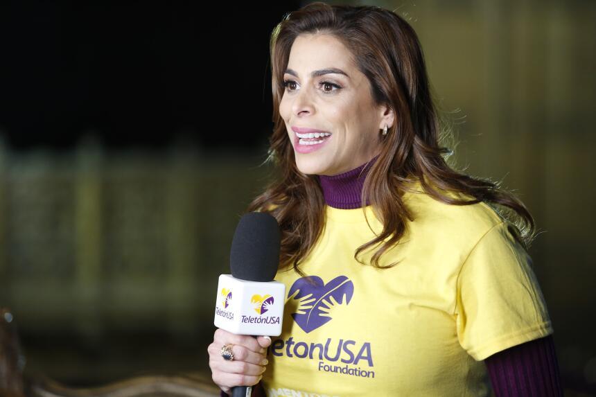 Lourdes Stephen en Teletón USA 2015
