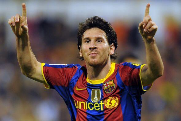 Messi sigue en racha y no para de convertir.