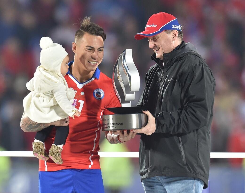 Así ha sido la carrera del chileno Eduardo Vargas, posible refuerzo de T...