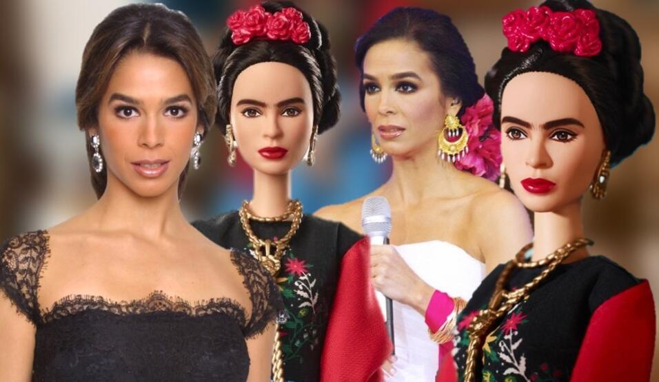 Mattel presentó una muñeca Barbie inspirada en la célebre artista mexica...