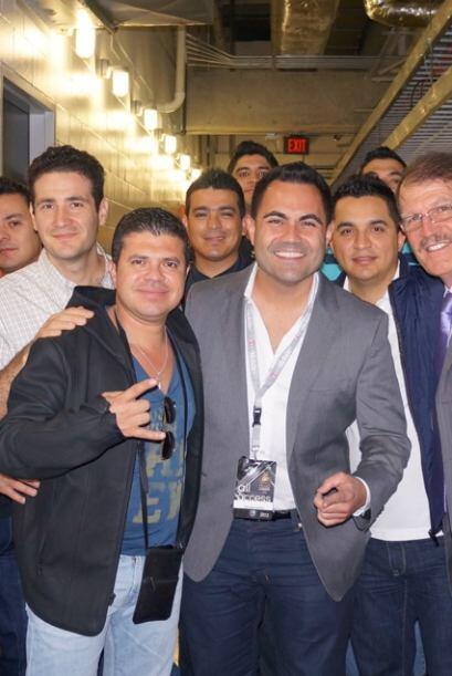Enrique Santos tras bastidores con acceso total a los ensayos de la 25a...