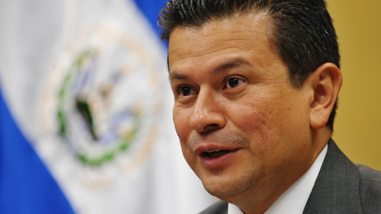 Hugo Martínez, canciller de El Salvador