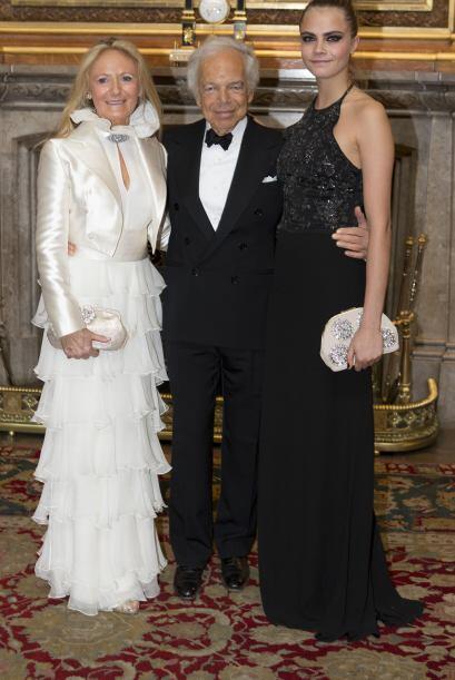 También celebraron la labor del diseñador Ralph Lauren, quien ha ayudado...