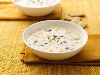 Cremosa sopa de elote del suroeste: ¿Se te antoja una sopa? Disfr...