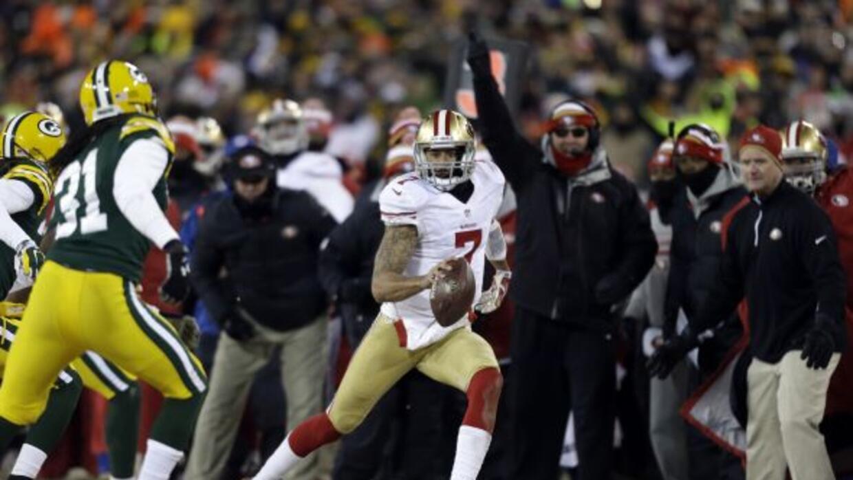 Los Packers permitieron 98 yardas a Colin Kaepernick en su 2º encuentro...