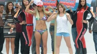 """Mariana """"Barbie"""" Juárez, campeona Internacional supermosca del CMB, y la..."""