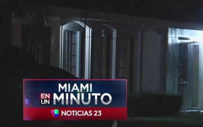 'Miami en un Minuto': autoridades identificaron a uno de los dos hombres...