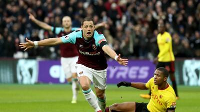¿Por qué es tan valioso el gol de 'Chicharito' en el triunfo de West Ham contra Watford?