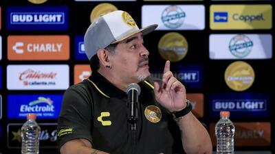 "El motivacional discurso de Maradona a Dorados: ""Cada pelota es la vida"""