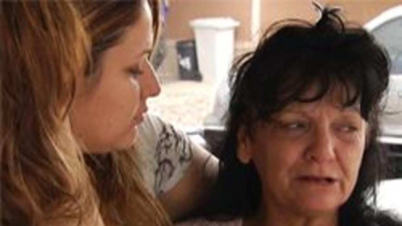 Elvira Fernandez madre del fallecido