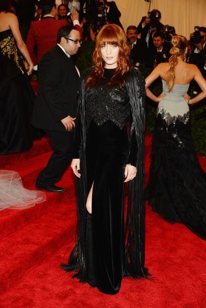 Florence Welch es otra de las famosas que en 2013 no se llevó las mejore...