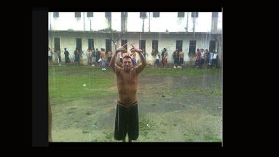 Imagen de uno de los reclusos