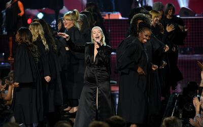 Christina Aguilera en los American Music Awards.