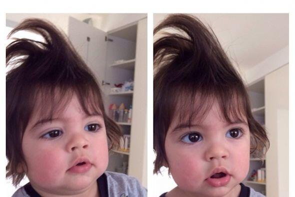 Conforme pasa el tiempo, hemos notado que este niño tiene varios 'looks'...