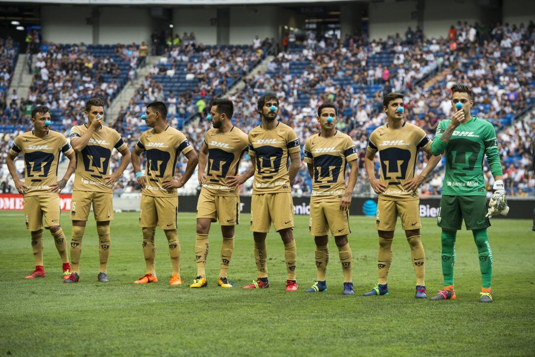 En fotos: Pumas en caída libre y Monterrey le da la vuelta 20180407-1531...