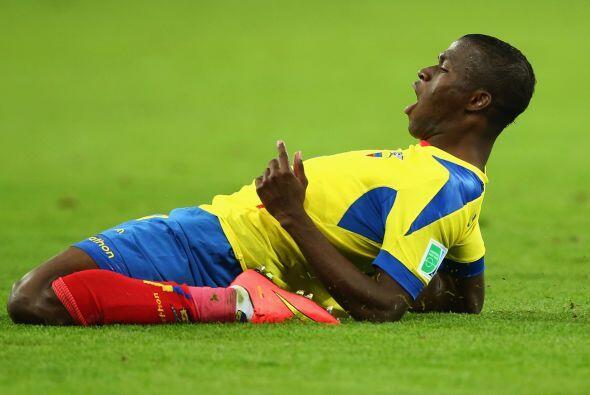 Ecuador perdió a Enner Valencia, quien será baja para los duelos ante Mé...