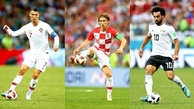 Los números que avalan a CR7, Modrić y Salah como candidatos a Mejor Jugador del Año de la UEFA