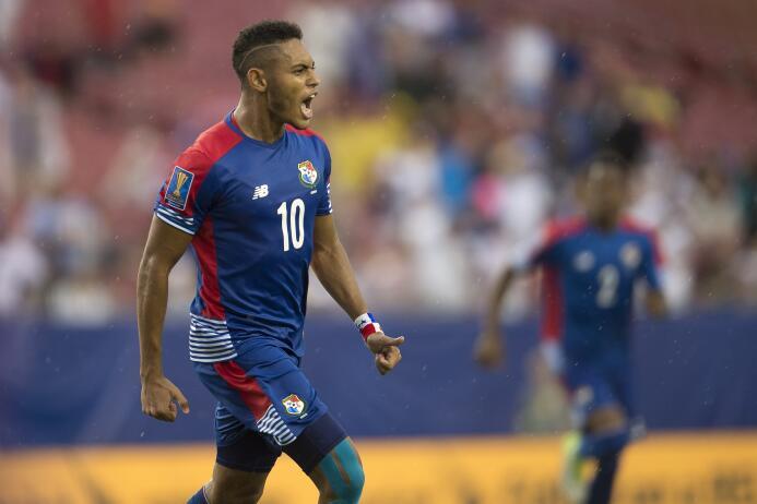 Ismael Díaz (Panamá): un gol
