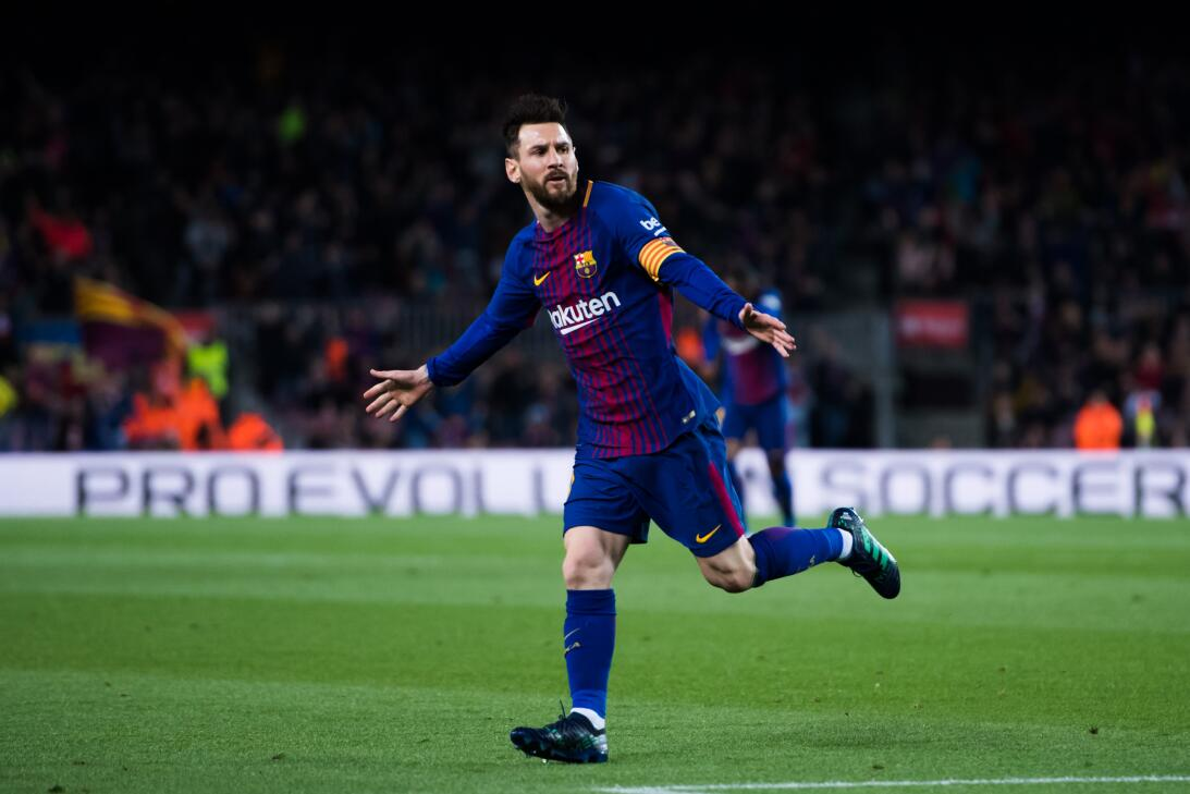 En fotos: Barcelona de récord con triplete de Messi gettyimages-94309900...
