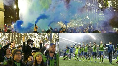 Los colores del fútbol en Seattle en la MLS