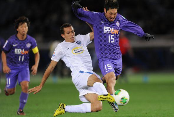 Y rápidamente entendió el entorno, buscó el gol y aunque tardó 65 minuto...