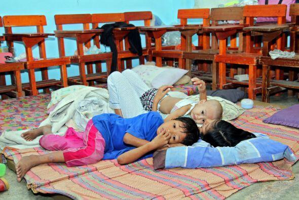 Al menos 120 mil personas se han quedado en Mindanao y la región...