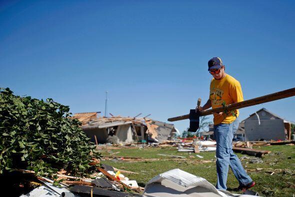 """Terry Halliday, alcalde de Coal City, dijo estar """"muy preocupado"""" por la..."""