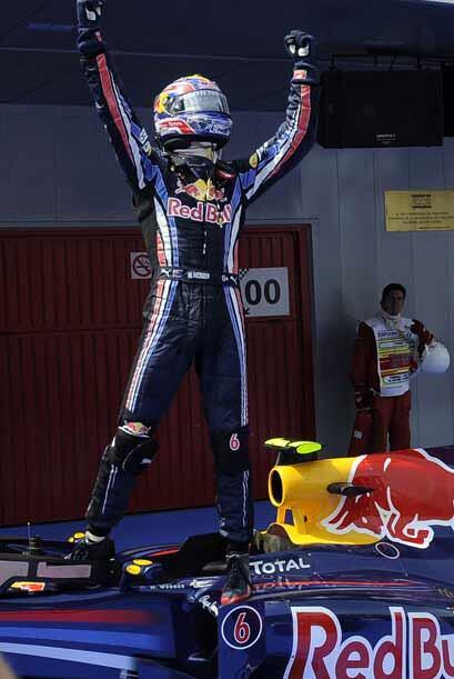 Webber ganó su primera carrera del año y se mete de lleno...