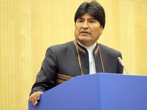 La reciente decisión del presidente de Bolivia, Evo Morales, de e...