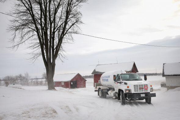 Las temperaturas también podrían mantenerse por debajo de cero el martes...