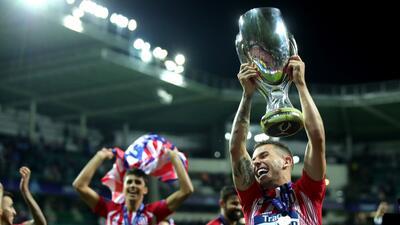 Así reaccionó la prensa luego del triunfo del Atlético de Madrid en la UEFA Super Cup