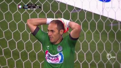 Goooolll!! Alex Nicolao Telles mete el balón y marca para Porto
