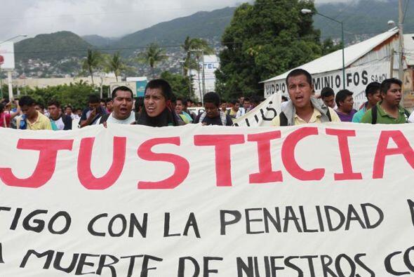 Justicia, es lo que los guerrerenses y mexicanos piden ante el caso Iguala.