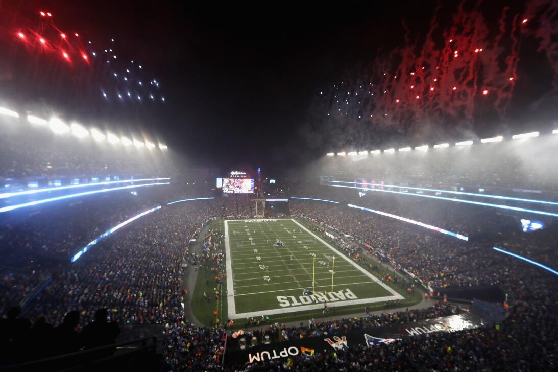 El espectáculo fuera de competencia en las finales de la NFL GettyImages...