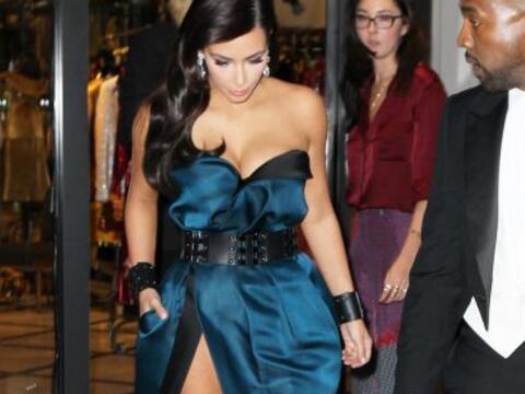 Kim Kardashian no se podía perder la Gala MET, fue acompañ...