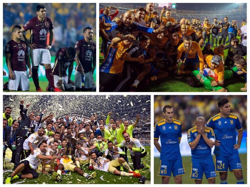 En los últimos 10 años, Tigres suma 13 triunfos sobre el A...