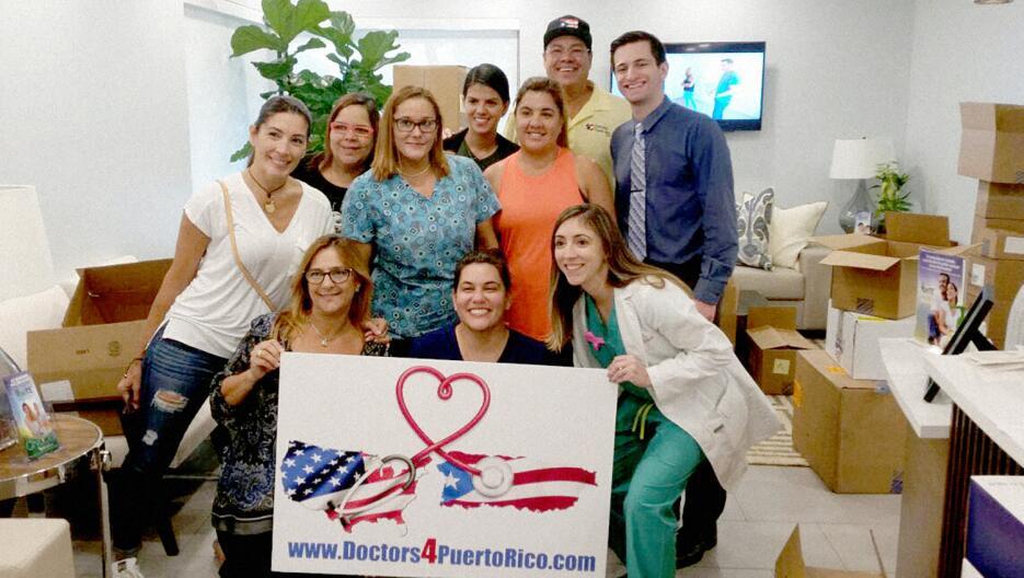 Este es el grupo encargado de hacer posible que Doctors4PuertoRico haya...