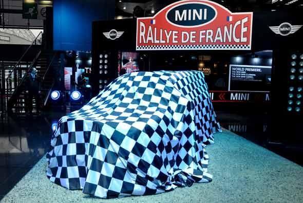 La gran presentación de MINI en el Autoshow de París fue un auto de comp...