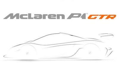 El P1 GTR será sumamente exclusivo, y no será legal para la calle.