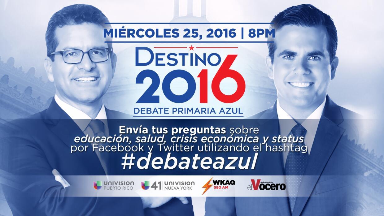 Debate Azul