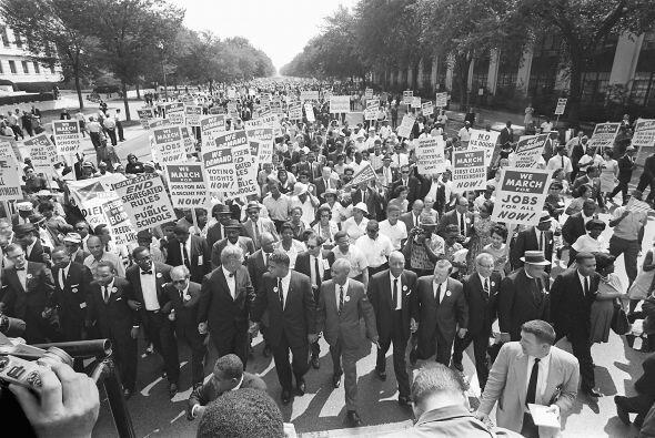 King no era el líder de la marcha, sino A. Philip Randolph, un sindicali...