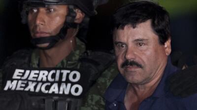 """La recaptura de Joaquín """"El Chapo"""" Guzmán."""