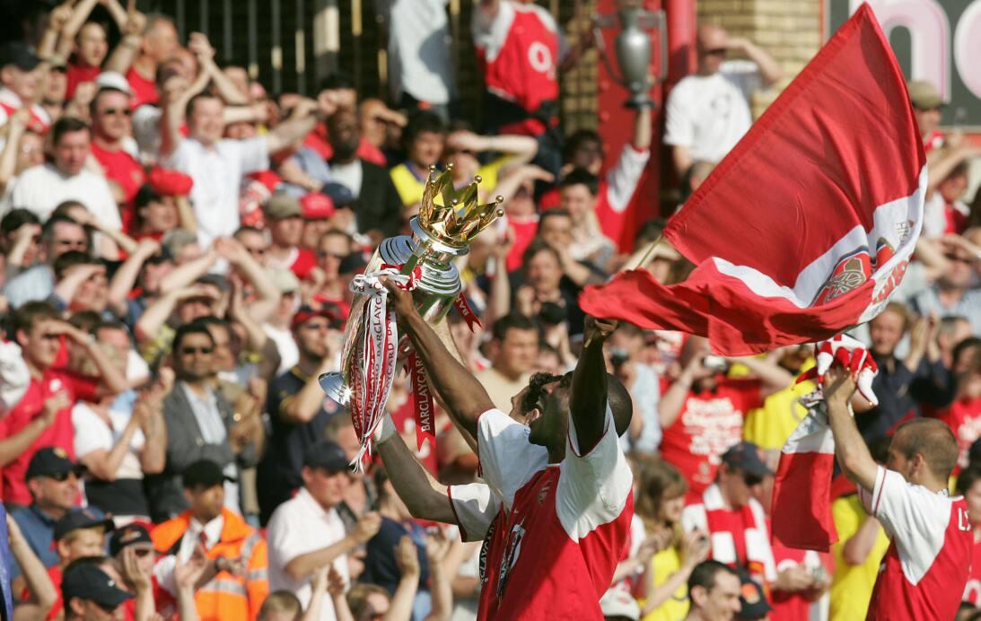 5. Arsenal (2003/2004) - 90 puntos y +47 en diferencia de gol. Fueron ca...