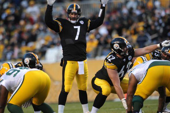 16. Ben Roethlisberger - 503 yardas: Pittsburgh Steelers vs. Green Bay P...