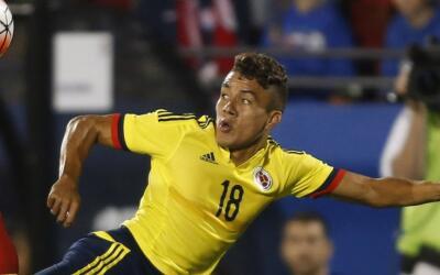 Andres Felipe Roa con la seleccion Colombia