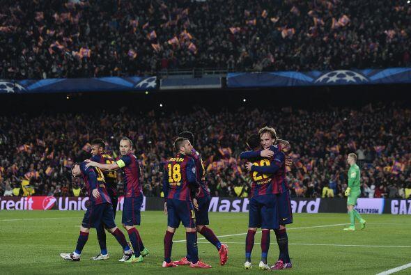 Además, el conjunto catalán marcó 167 goles, por 98 del Real Madrid.